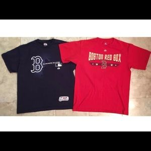Boston Red Sox T-Shirt Loy of 2- Large/XL